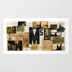 M5 Collection Art Print