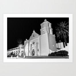 Mission San Luis Rey De Francia Art Print