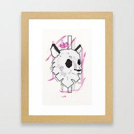 Queen Panda Framed Art Print