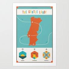 Portugal - The Gentle Land Art Print