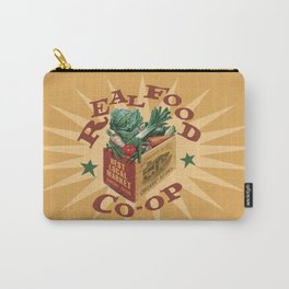 Real Food Co-op Poster Carry-All Pouch