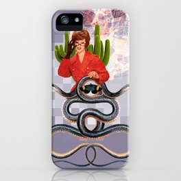 Snake Handler iPhone Case