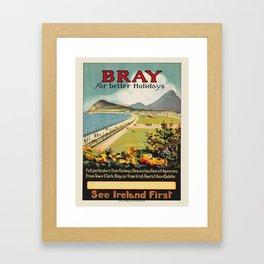 Vintage poster - Ireland Framed Art Print
