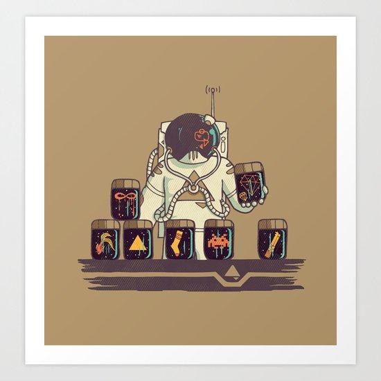 Kleptonaut Art Print