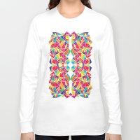 kaleidoscope Long Sleeve T-shirts featuring Kaleidoscope by Flo Thomas