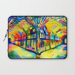 If You See A Fork In The Road, Take It! Laptop Sleeve