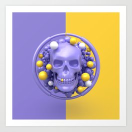 Skull V2 Art Print