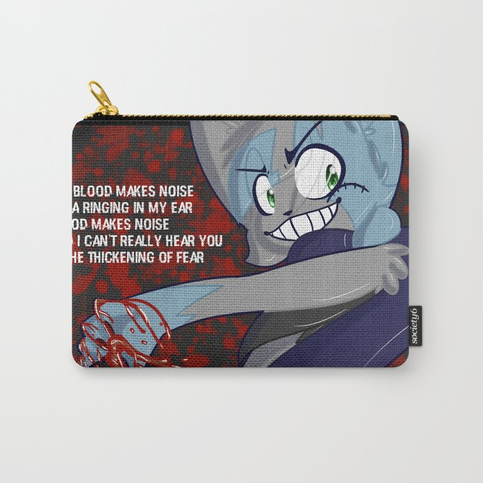 Blood Makes Noise Carry-All Pouch