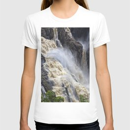 Raging thunder of the waterfall T-shirt