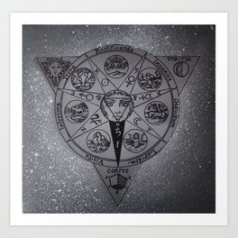 Alchemy - Painting Art Print