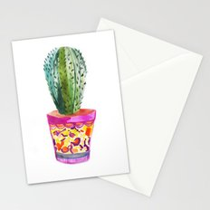 Cactus Watercolour Stationery Cards