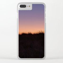 Dunes Sunset Clear iPhone Case