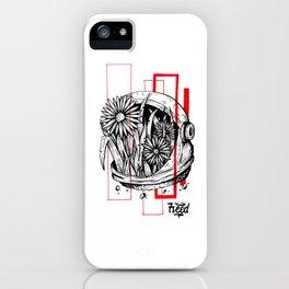 Floralnaut iPhone Case