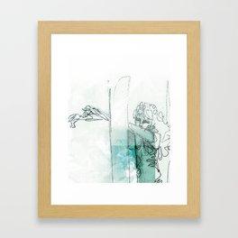 Selbstbezug Framed Art Print
