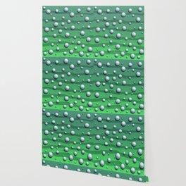 Alien Bubble Skin Green Wallpaper