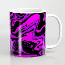 Pink Purple and Black Oil Slick Coffee Mug