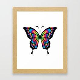 Butterfly Gift Framed Art Print