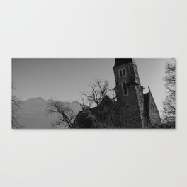 Shades of Swiss Canvas Print