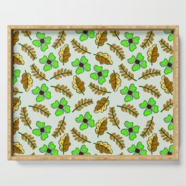 Clover Serving Tray