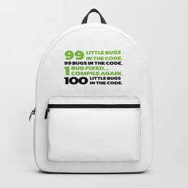 Little bugs in the code Backpack