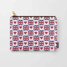 Flag of UK 15- London,united kingdom,england,english,british,great britain,Glasgow,scotland,wales Carry-All Pouch