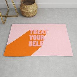 Treat Yourself | Peach Rug