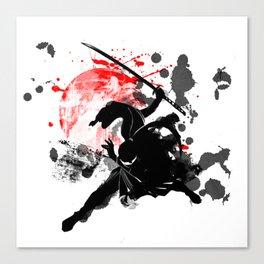 Japan Ninja Canvas Print