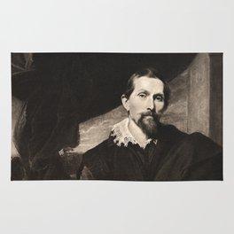 Portrait of Sndyers. Van Dyck Rug