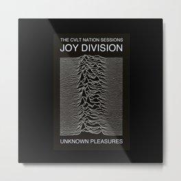 Joy Division Unknown Pleasures Metal Print