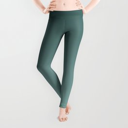 Turquoise Ombre Leggings