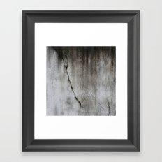 Cicatrix Framed Art Print