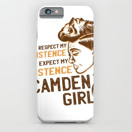 Respect my Existence iPhone Case