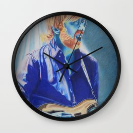 Trey Anastasio in Blue Wall Clock