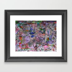 Mother Ganja (take me higher) Framed Art Print