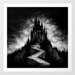 Vampire Castle Art Print