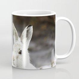 white mountain hare Coffee Mug