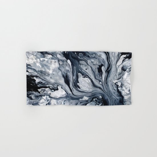 Abstract Oil Hand & Bath Towel