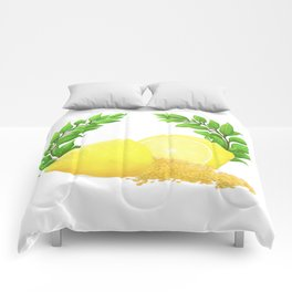 When Life Gives You Lemons, You Paint That **** Gold Comforters