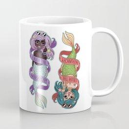 ♀ Crush the patriarchy ♀ Coffee Mug