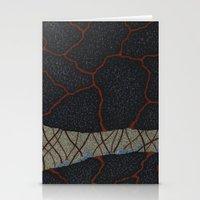 kaiju Stationery Cards featuring kaiju (cropped) by thefleafarm (Amy Wright)