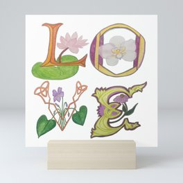 Love letters Mini Art Print