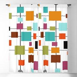 Mid-Century Modern Art 1.3.1 Blackout Curtain