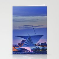 milwaukee Stationery Cards featuring Milwaukee Art Museum by Alaina Abplanalp