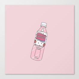 Calpis Strawberry CALPICO Canvas Print