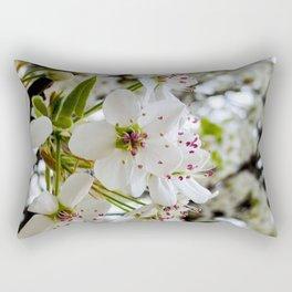 Ladies dressed up in White Rectangular Pillow