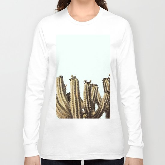 Vintage Cactus Long Sleeve T-shirt
