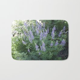 Mountain Lupines Bath Mat