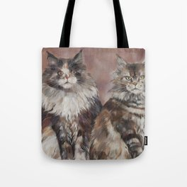 Maine Coons Tote Bag