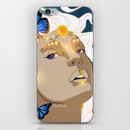 Butterflies Amazon iPhone Skin