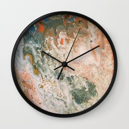 Cloudy Marsh Wall Clock